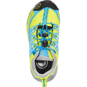 La Sportiva Falkon Low Chaussures Enfant, sulphur/blue